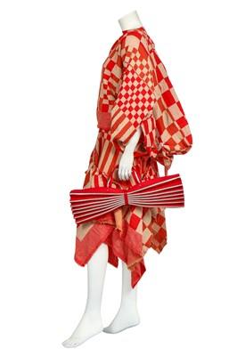 Lot 73 - A Rei Kawakubo/Comme des Garçons striped and checked wool ensemble,  Autumn-Winter 2003 Ready-To-Wear