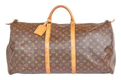 Lot 44 - A Louis Vuitton monogrammed leather holdall, 1990s-2000s