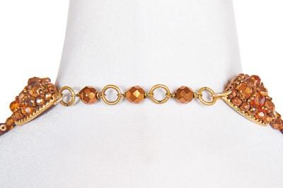 Lot 24 - A Coppola e Toppo beaded 'tie' necklace, 1960s