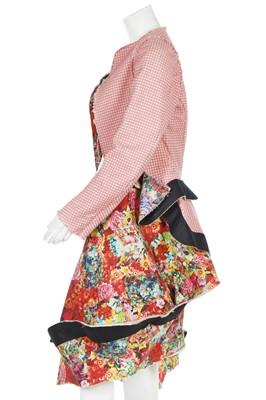 Lot 71 - A Rei Kawakubo/Comme des Garçons digitally-printed floral cotton ensemble, Spring-Summer 2004 Ready-To-Wear