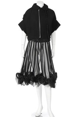 Lot 70 - A Rei Kawakubo/Comme des Garçons black padded wool jacket, Spring-Summer 2005 Ready-to-Wear
