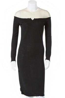 Lot 68 - Two Martin Margiela black dresses, 1990s