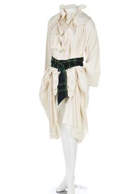 Lot 76 - A Rei Kawakubo/ Comme des Garçons calico coat, Spring-Summer 2006 ready-to-wear