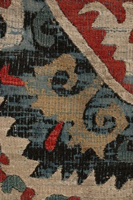 Lot 409-An embroidered panel, Caucasian, late 18th...