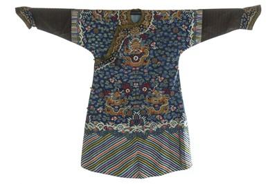Lot 380 - A kesi dragon robe, jifu, Chinese, mid 19th...