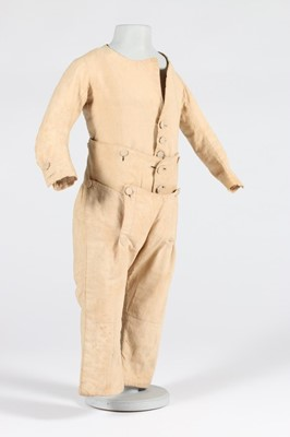 Lot 31-A rare boy's skeleton suit, circa 1785-95, of...