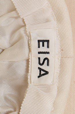 Lot 106 - A fine and important Balenciaga couture ivory...