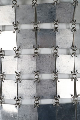 Lot 129 - A Paco Rabanne chain-linked armour-plate mini...