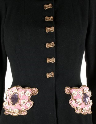 Lot 81-A fine and rare Elsa Schiaparelli embroidered...