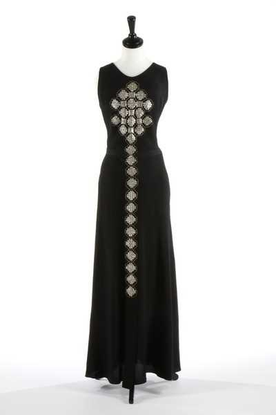 Lot 72 - A Jeanne Lanvin couture medieval inspired...
